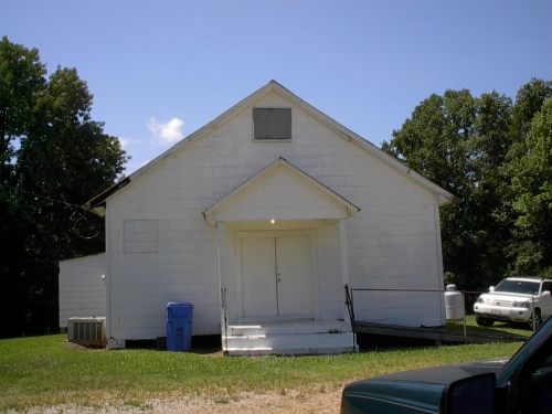 Moss Springs M.B. Church in North Carrollton, Mississippi