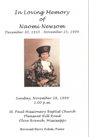 Naomi King-Newsom (1910-1999)