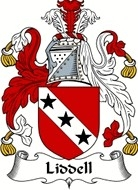 Liddell Family Coat of Arms