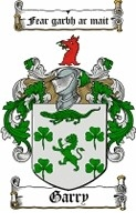 Gary Family Coat of Arms