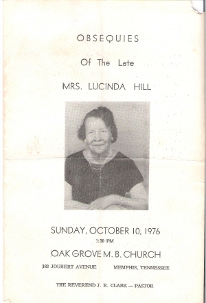 Lucinda Sledge-Hill (1900-1976)
