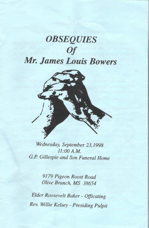 James Louis Bowers (1927-1998)