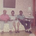 Letroy Liddell, Evelyn Oliver- Liddell, and Mose Singleton