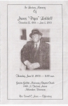 Obituary of James Liddell Jr.