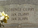 Florence Johnson-Curry (1895-1981)